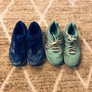 Women's ASICS Nimbus Running Shoes Bundle 9.5